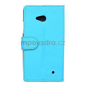 Ochranné peněženkové pouzdro Microsoft Lumia 640 - modré - 2