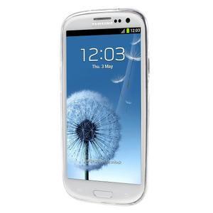 Ultratenký gelový obal na Samsung Galaxy S3 - lotus - 2
