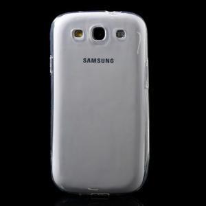 Ultratenký slim 0.6 mm obal na Samsung Galaxy S III / S3 - transparentní - 2