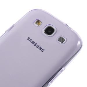 Ultratenký slim 0.6 mm obal na Samsung Galaxy S III / S3 - fialový - 2