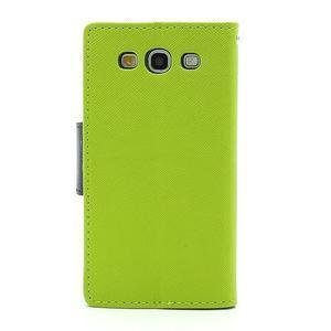 Mr. Fancy koženkové pouzdro na Samsung Galaxy S3 - zelené - 2