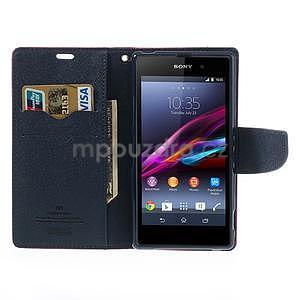 Fancy peněženkové pouzdro na mobil Sony Xperia Z1 - rose - 2