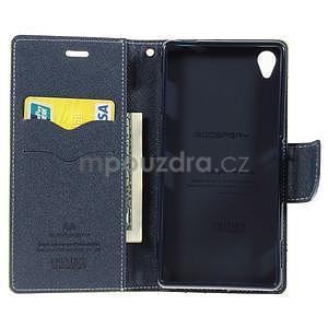 Peněženkové pouzdro na mobil Sony Xperia Z3 - zelené - 2