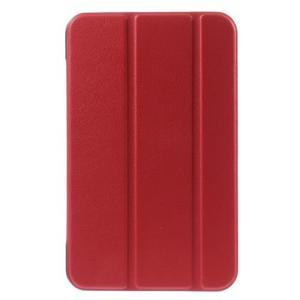 Supreme polohovatelné pouzdro na tablet Asus Memo Pad 7 ME176C - červené - 2