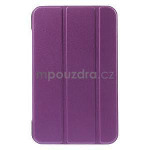 Supreme polohovatelné pouzdro na tablet Asus Memo Pad 7 ME176C - fialové - 2