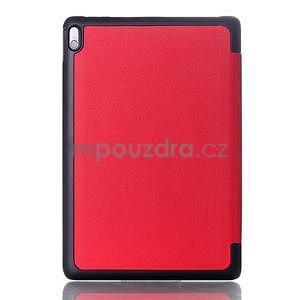 Troj-polohové pouzdro na table Lenovo IdeaTabl A10-70 - červené - 2