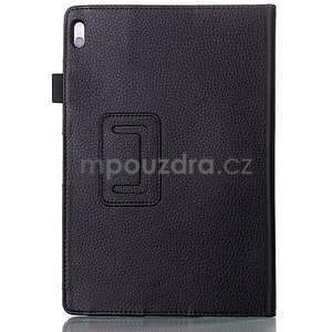 Koženkové pouzdro na tablet Lenovo A10-70 - černé - 2