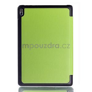 Troj-polohové pouzdro na table Lenovo IdeaTabl A10-70 - zelené - 2