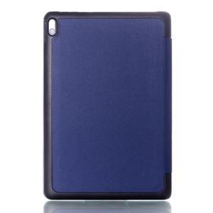 Troj-polohové pouzdro na table Lenovo IdeaTabl A10-70 - tmavě modré - 2