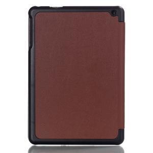 """Tří polohové pouzdro na tablet Lenovo IdeaTab Miix 3 8"""" - hnědé - 2"""