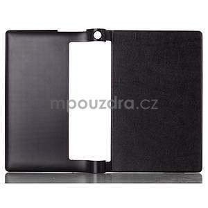 Koženkové pouzdro na Lenovo Yoga Tablet 2 8.0 - černé - 2