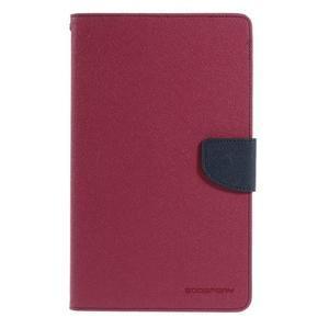 Rose peněženkové pouzdro Goospery na tablet Samsung Galaxy Tab 4 8.0 - 2