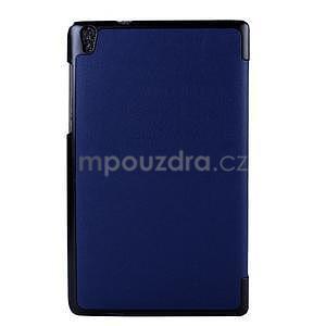 Tmavě modré pouzdro na tablet Lenovo S8-50 s funkcí stojánku - 2