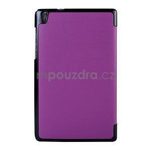 Fialové pouzdro na tablet Lenovo S8-50 s funkcí stojánku - 2