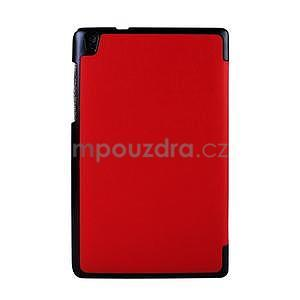 Červené pouzdro na tablet Lenovo S8-50 s funkcí stojánku - 2