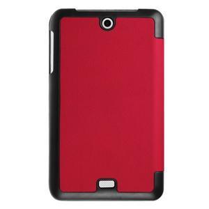 Trifold polohovatelné pouzdro na tablet Acer Iconia One 7 B1-770 - červené - 2