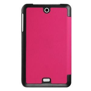 Trifold polohovatelné pouzdro na tablet Acer Iconia One 7 B1-770 - rose - 2