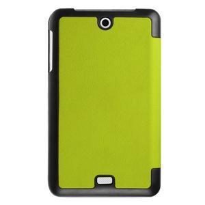 Trifold polohovatelné pouzdro na tablet Acer Iconia One 7 B1-770 - zelené - 2