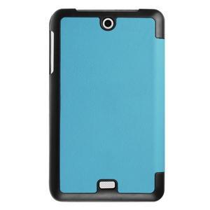 Trifold polohovatelné pouzdro na tablet Acer Iconia One 7 B1-770 - světlemodré - 2