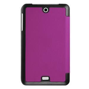 Trifold polohovatelné pouzdro na tablet Acer Iconia One 7 B1-770 - fialové - 2