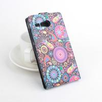 Flipové pouzdro na mobil Acer Liquid Z520 - barevné kruhy - 2/6