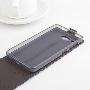 Flipové pouzdro na mobil Acer Liquid Z520 - záda dívky red - 2