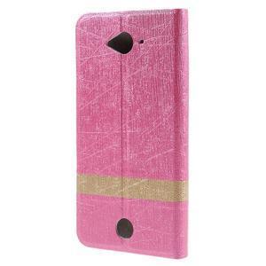 Klopové pouzdro na mobil Acer Liquid Z530 - rose - 2