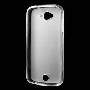 Matný gelový obal na Acer Liquid Z530 - bílý - 2