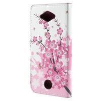 Valet peněženkové pouzdro na Acer Liquid Z530 - kvetoucí větvička - 2/6