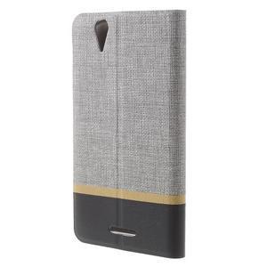 Klopové pouzdro na mobil Acer Liquid Z630 - šedé - 2