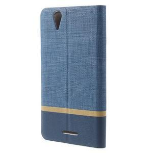 Klopové pouzdro na mobil Acer Liquid Z630 - modré - 2