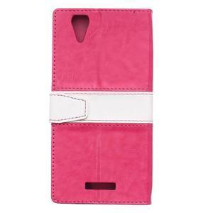 Lines pouzdro na mobil Acer Liquid Z630 - rose - 2