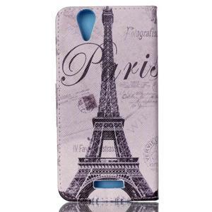 Peněženkové pouzdro na mobil Acer Liquid Z630 - Eiffelova věž - 2