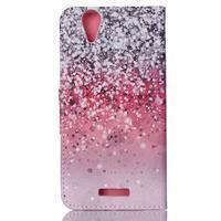 Peněženkové pouzdro na mobil Acer Liquid Z630 - gliter - 2/6