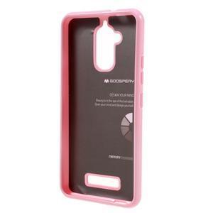 Jelly odolný gelový obal na Asus Zenfone 3 Max ZC520TL - růžový - 2