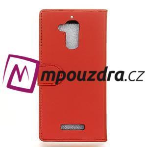 Glory peněženkové pouzdro na Asus Zenfone 3 Max - červené - 2