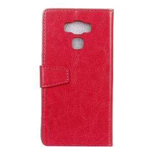 Wall knížkové pouzdro na mobil Asus Zenfone 3 Max ZC553KL - rose - 2