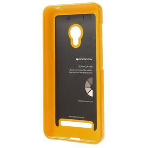 Gelový obal na Asus Zenfone 5 - Žlutý - 2