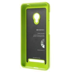 Gelový obal na Asus Zenfone 5 - zelený - 2