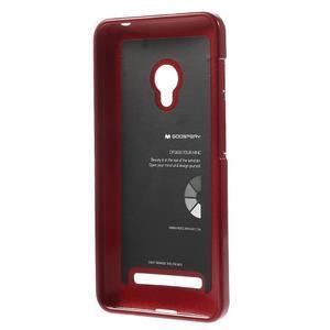 Tmavě červený gelový obal na Asus Zenfone 5 - 2