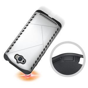 Odolný kryt na mobil Asus Zenfone Max - stříbrný - 2