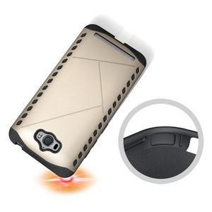 Odolný kryt na mobil Asus Zenfone Max - zlatý - 2