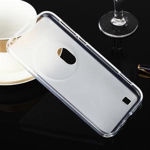 Gelový matný obal na mobil Asus Zenfone Zoom - bílý - 2