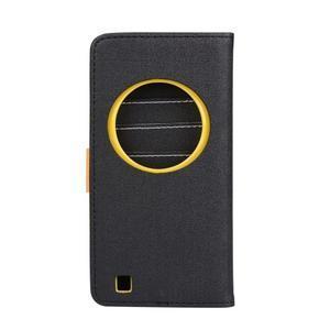 PU kožené pouzdro na Asus Zenfone Zoom - černé - 2