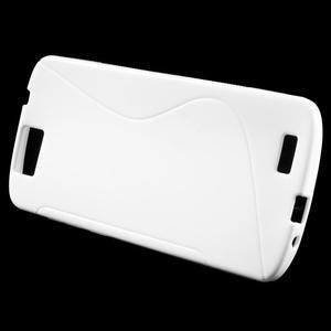Gelový kryt S-line Huawei Ascend G7 - bílý - 2