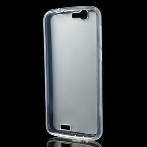 Gelový obal s matnými zády Huawei Ascend G7 - 2