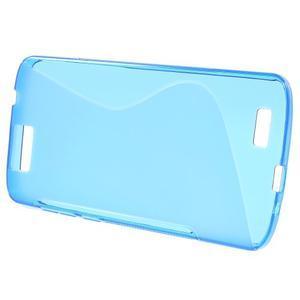 Gelový kryt S-line Huawei Ascend G7 - modrý - 2