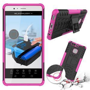 Outdoor ochranný kryt na mobil Huawei P9 - rose - 2