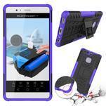 Outdoor ochranný kryt na mobil Huawei P9 - fialový - 2/2