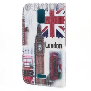 Peněženkové pouzdro na mobil Huawei Y3 a Y360 - United Kingdom - 2